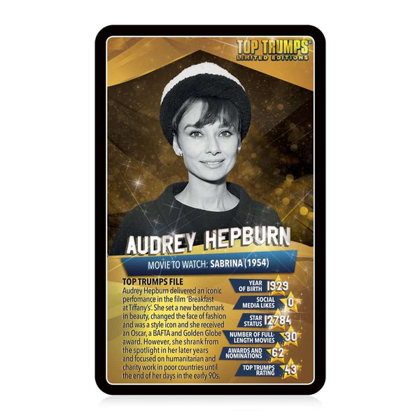 Top 30 Movie Stars Top Trumps - Top Trumps USA