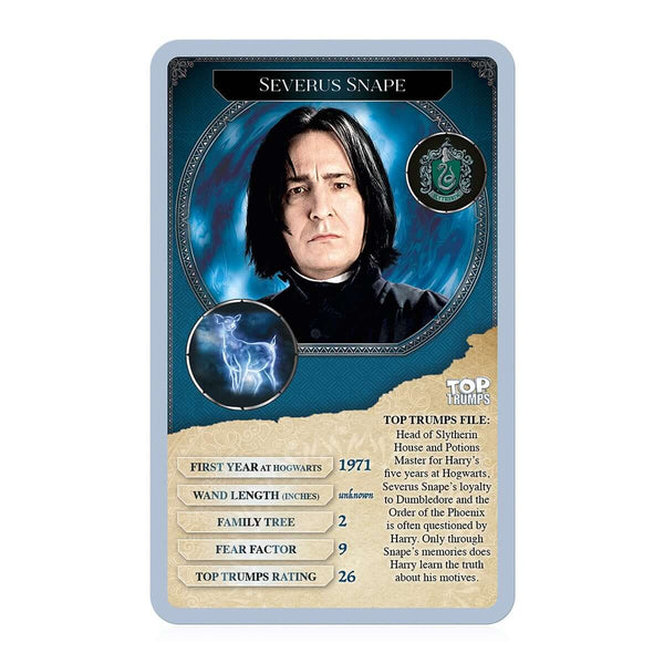 Harry Potter - 30 Witches and Wizards Top Trumps - Top Trumps USA
