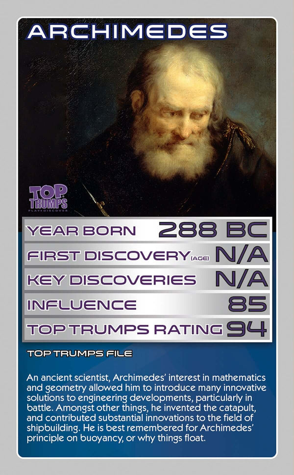STEM: Top 30 Scientists Top Trumps - Top Trumps USA
