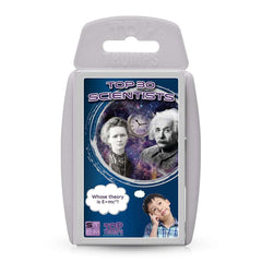 STEM: Top 30 Scientists Top Trumps Card Game