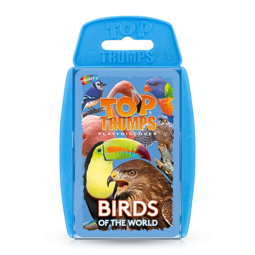 Birds of the World Top Trumps Card Game