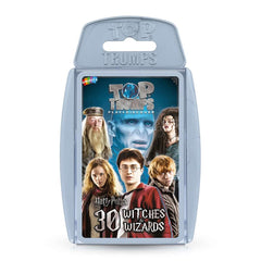 Harry Potter - 30 Witches and Wizards Top Trumps