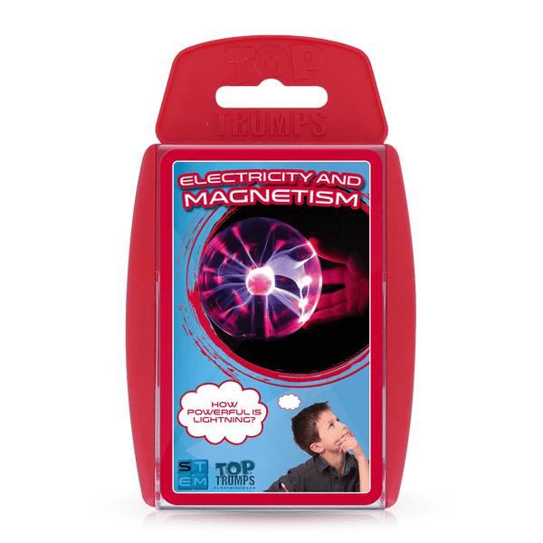 Electricity and Magnetism Top Trumps Card Game - Top Trumps USA