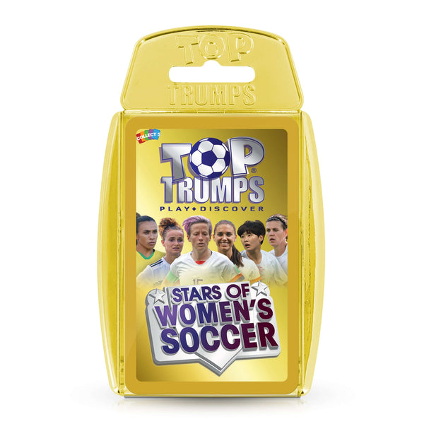 Stars of Women's Soccer Top Trumps Card Game - Top Trumps USA