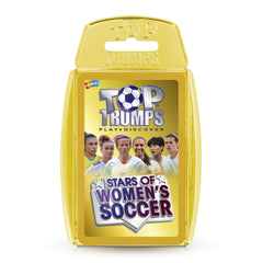 Stars of Women's Soccer Top Trumps Card Game