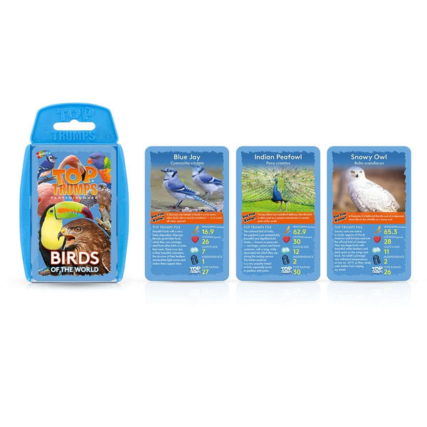 Birds of the World Top Trumps Card Game - Top Trumps USA