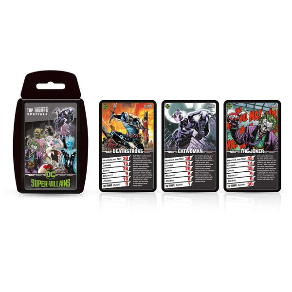 DC Super Villians Top Trumps Card Game - Top Trumps USA