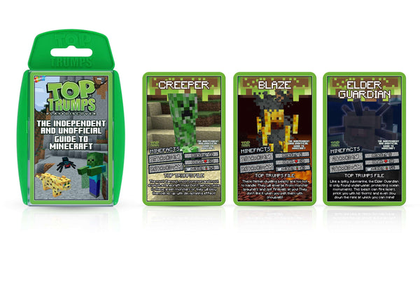 Independent & Unofficial Top Trumps Guide to Minecraft Card Game - Top Trumps USA
