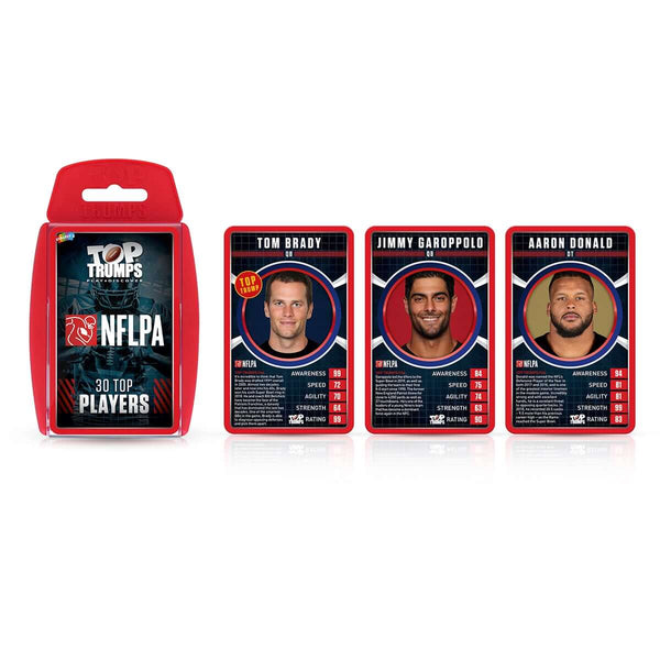 NFL PA Top Trumps Card Game - Top Trumps USA
