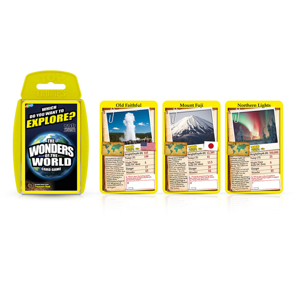 World Quiz Night Top Trumps Bundle Card Game - Top Trumps USA