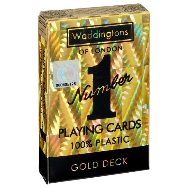 Classic Gold Waddingtons Number 1 Playing Card Game - Top Trumps USA
