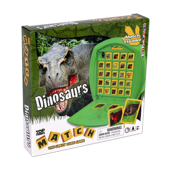 Dinosaurs Top Trumps Match - Top Trumps USA