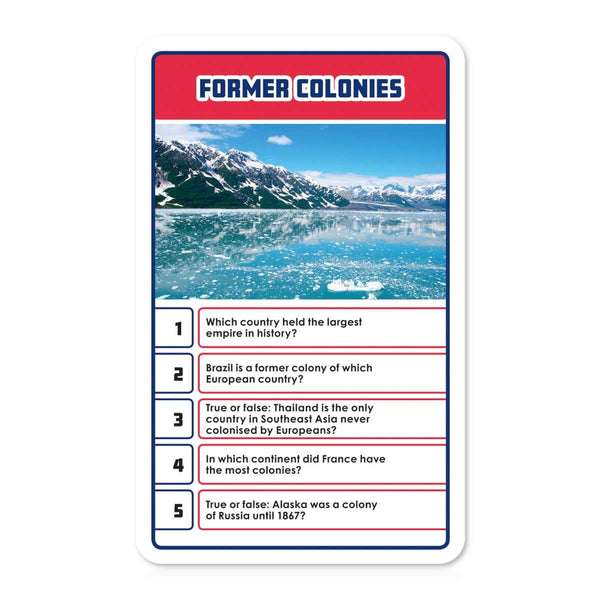 Countries and Flags Top Trumps Quiz - Top Trumps USA