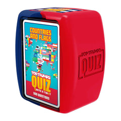 Countries and Flags Top Trumps Quiz Game