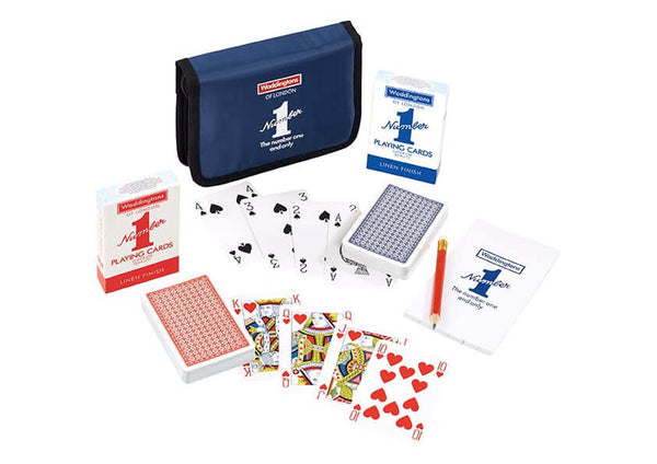 Bridge Card Folio Waddingtons No. 1 Playing Cards - Top Trumps USA