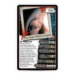 Unofficial Guide to 30 Scary Flix Top Trumps