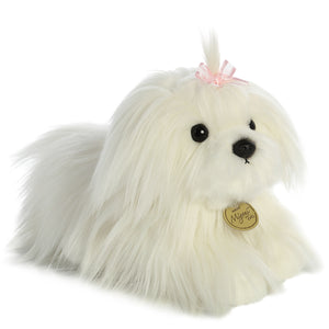 Maltese Puppy Dog 11 inch