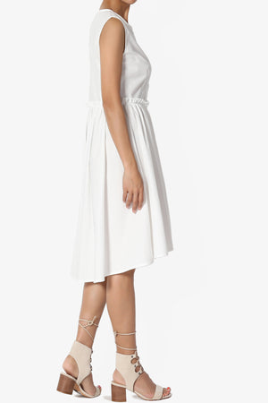 Shayla Poplin Fit & Flare Dress - TheMogan