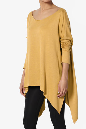 Pruce Oversized Poncho Top - TheMogan