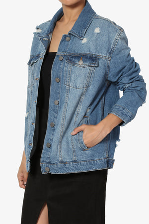 Dominicaa Oversized Denim Jacket - TheMogan