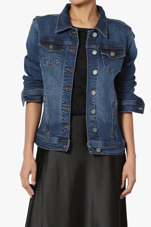 Morrison Stretch Denim Jacket - TheMogan