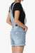 Roselita Distressed Denim Overall Shorts - TheMogan