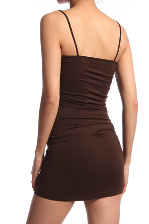 Olivarra Seamless Slip Dress - TheMogan