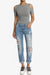 Caitlin Distressed Boyfriend Jeans - TheMogan