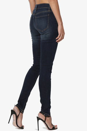 Tushar Mid Rise Ankle Skinny Jeans - TheMogan