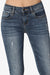 Carrson Distressed Roll Up Skinny Jeans - TheMogan