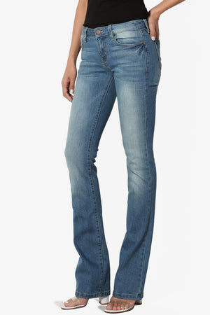 Lottie 32 Slim Boot Cut Jeans - TheMogan