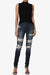 Liria High Rise Shred Skinny Jeans - TheMogan