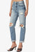 Rocky High Rise Distressed Boyfriend Jeans