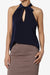 Ashley Tie Neck Sleeveless Blouse