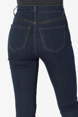 Savana High Rise Soft Jeans - TheMogan