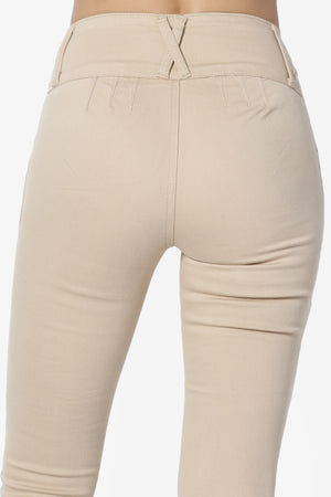 Bowie Hip-UP Natural Rise Jeans - TheMogan