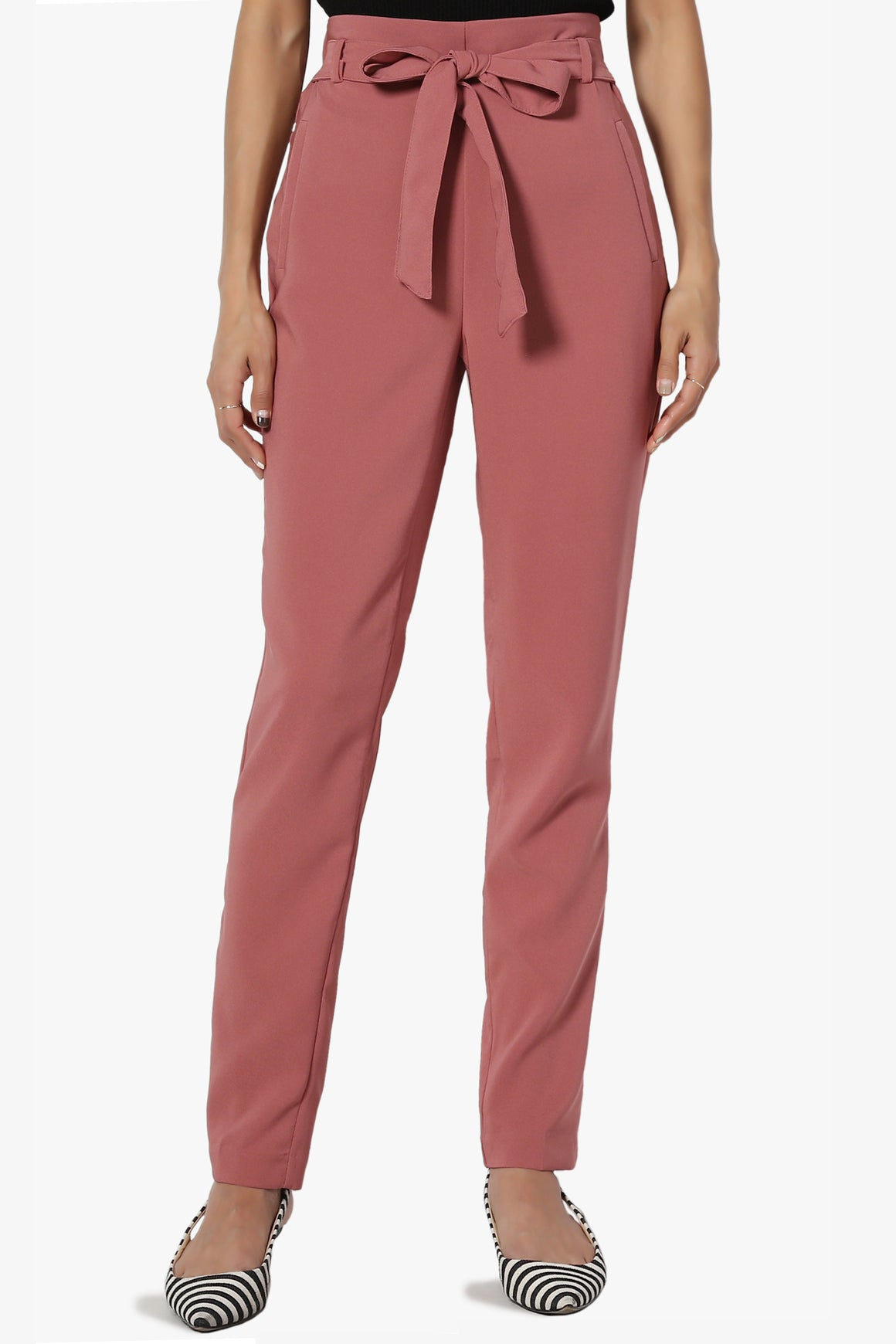 Moxy Bow Belt Trousers