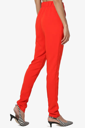 Moxy Belted Skinny Leg Trousers - TheMogan