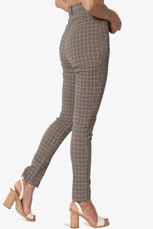 Nergize High Waisted Check Trousers