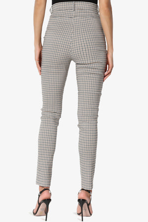 Selenia High Waisted Check Trousers
