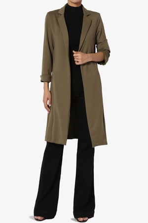 Novoli Longline Duster Jacket - TheMogan