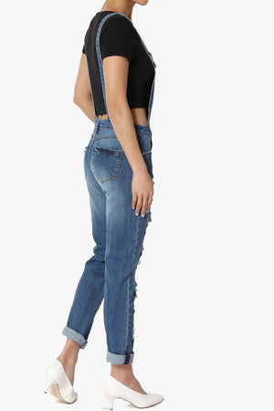 Sofia Relaxed Denim Overall - TheMogan
