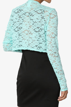 English Long Sleeve Lace Bolero - TheMogan