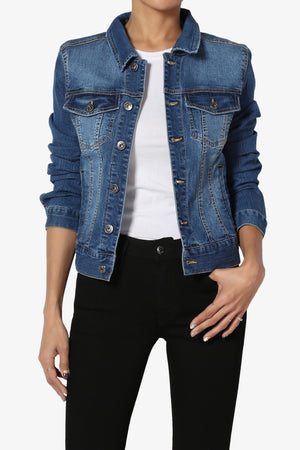 Plim Lightweight Slim Denim Jacket