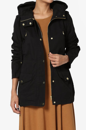 Trina Hooded Utility Jacket - TheMogan