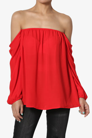 Bali Off Shoulder Blouse - TheMogan
