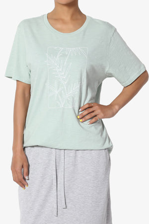 Phillips Embroidered Short Sleeve Tee - TheMogan