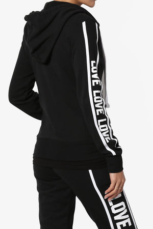 Shawnee Love Zip-Up Hoodie Jacket - TheMogan