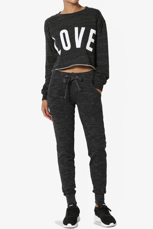 Coltyn LOVE Crop Pullover - TheMogan