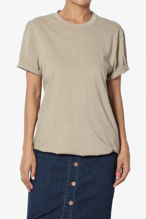 Kami Boyfriend Short Sleeve Tee - TheMogan